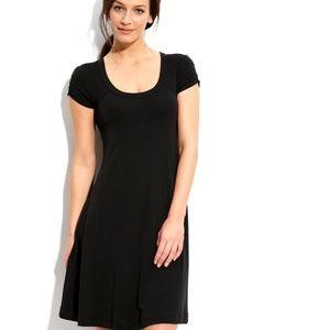 Karen Kane Sleeveless Pleated Little Black Dress